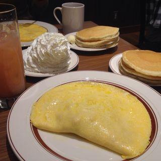 チーズオムレツ(Eggs 'n Things 銀座店)