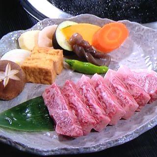 石焼きステーキ牡丹コース(神戸にしむら珈琲店 御影店 (コウベニシムラコーヒーテン))