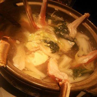 蟹鍋(蟹漁師の家 青山本店 )