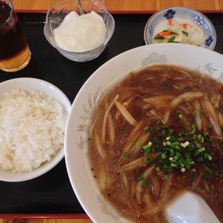 ランチセットフカヒレ麺