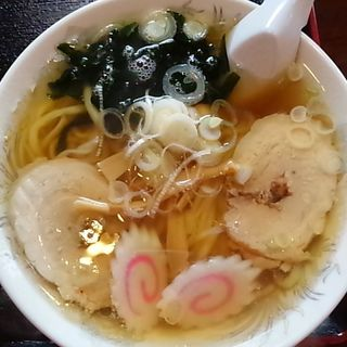 醤油ラーメン(手打ラーメン 恒 足利支店 )
