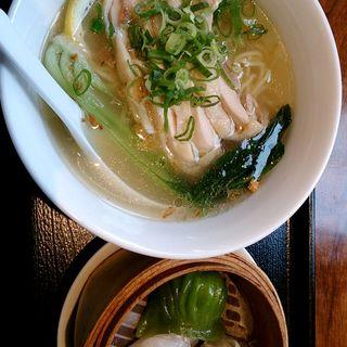塩レモン蒸し鶏麺セット(レッドクリフ アリオ橋本店 (RED CLIFF))