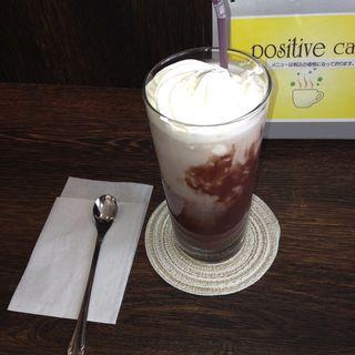 アイスココア(positive cafe)