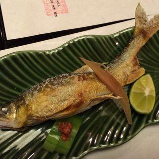鮎の塩焼き(京料理旅館 高台寺 よ志のや (きょうりょうりりょかん こうだいじ よしのや))