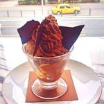 チョコレートのパフェ