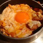 新宿で食べられる、がっつり親子丼ランチ
