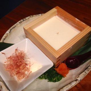 できたて手作り豆腐(旬和席 うおまん 三ノ宮店 (しゅんわせき うおまん))