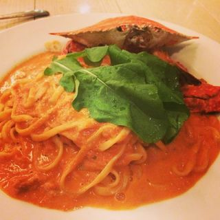 渡り蟹のトマトクリームソース(タールムビアンコ お台場店 (TARLUM BIANCO))