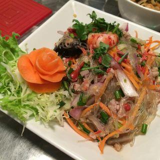 Rice Vermicelli Salad(スパイス・マーケット)