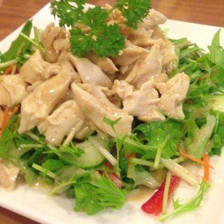 鶏サラダ(壱休)