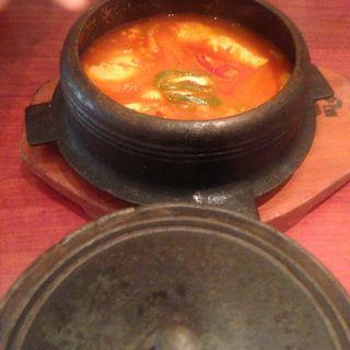 純豆腐(スンドゥブ)チゲ(ぴょんぴょん舎  GINZA UNA)