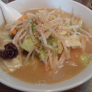 白醤油タンメン (中華そば 蔵元)