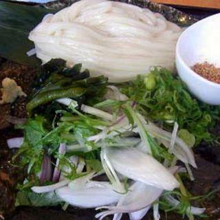 地鶏のつけ麺(古蝶庵 )