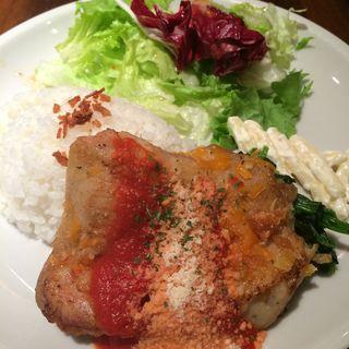チキンガーリック(スワン食堂 御茶ノ水本店 )