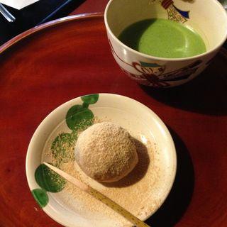 抹茶・和菓子(ぎをん小森)