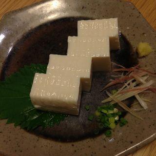 くぼさんの豆腐(ディヨンナナショクドウ (d47食堂))