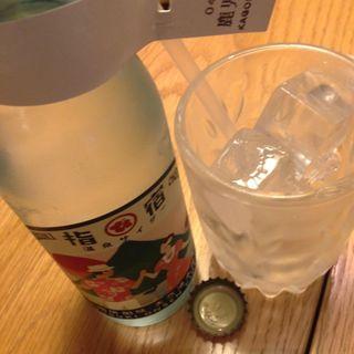 指宿温泉サイダー(ディヨンナナショクドウ (d47食堂))