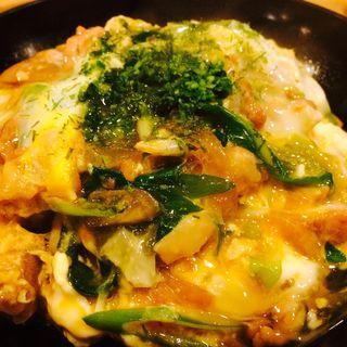 赤鶏 親子丼(万ん卯 本店 (まんう))