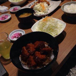 味噌ロースカツ丼(とんかつ寿々木 コレド室町店)