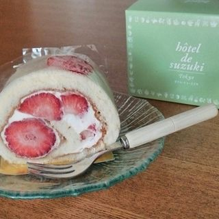 あまおうのロールケーキ(ル・フルティエ (Le・Fruitier))