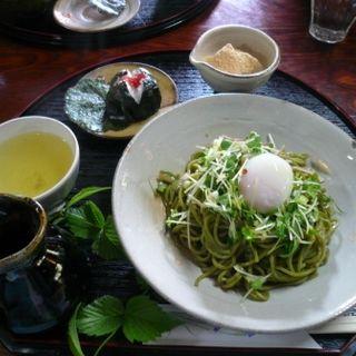 茶そば(峠の茶屋 一軒屋 (いっけんや))