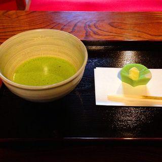 抹茶セット(旧岩崎邸庭園 お茶席 )