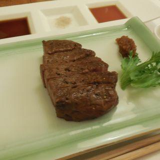 里美牛のフィレ(鉄板 彩馳)