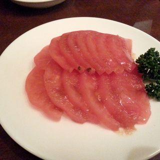 冷やしトマト(永安餃子坊)