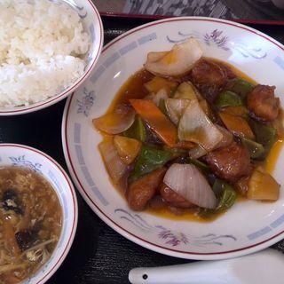 酢豚定食(美食生 (ビショクショウ))