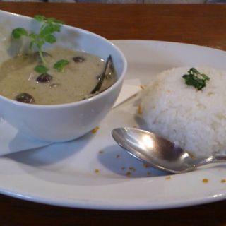 グリーンカレーランチ(マザームーンカフェ 美浜 (Mother Moon Cafe))