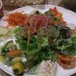 HATAKEの野菜スペシャルランチセット(ハタケカフェ (HATAKE CAFE))