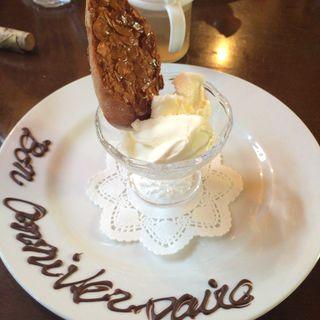練乳アイスクリーム(大西亭 )
