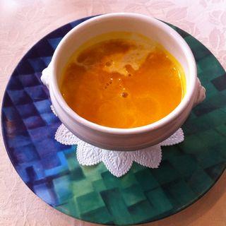 バターナッツかぼちゃのスープ(デュ・バブレン (Du Bas Brin))