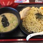 魚節豚骨つけ麺(麺家 くさび 郡山富田店 )