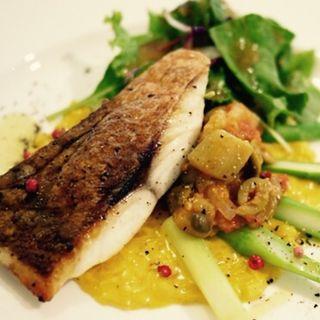 白身魚とお野菜のメイン(イイジマ)
