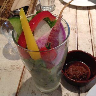高原野菜サラダパフェ(アインソフ ジャーニー (AINSOPH.JOURNEY))