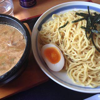 石焼きみそつけ麺(ラーメンみそ伝 八山田店)
