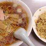 ラーメン+半チャーハン(中華こんどう軒)