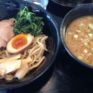 赤つけ麺(横浜家系ラーメン あづま家 郡山店)