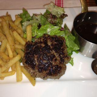 熟成肉の塩ハンバーグ(ビストロカフェ レディース&ジェントルメン (BISTRO CAFE LADIES & GENTLEMEN))