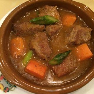 牛肉のシチュー(スペイン料理銀座エスペロ みゆき通り店)