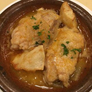 チキンの煮込み(スペイン料理銀座エスペロ みゆき通り店)