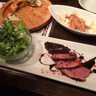 カモ肉のソテー(Spain bar Sebasuke Mikage (スペインバル セバスケ))