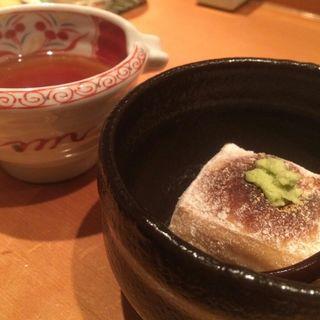 もちもち焼き胡麻豆腐(なかふく )