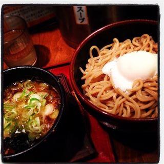 和風醤油つけ麺(あんびしゃす花 )