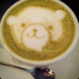 抹茶カフェラテ(サロカフェ (salo cafe))