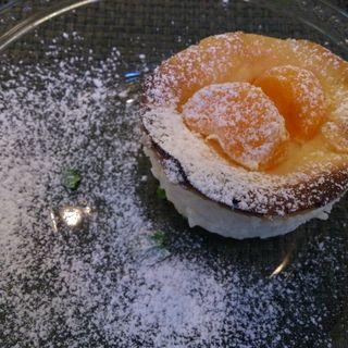 オレンジチーズケーキ(MANNA)