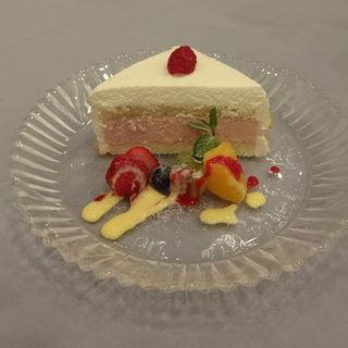 ラズベリーショートケーキ(イル・サッジオ)