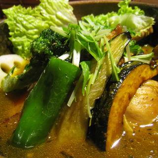 スープカレー チキン(札幌ドミニカ 銀座店 (DOMINICA))