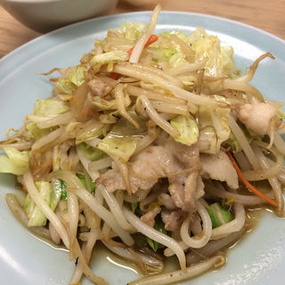肉野菜炒めライス(七面鳥 )